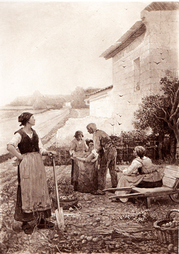 Les approches de l 39 automne d sir fran ois laug e peinture toile huile - Date de l automne ...
