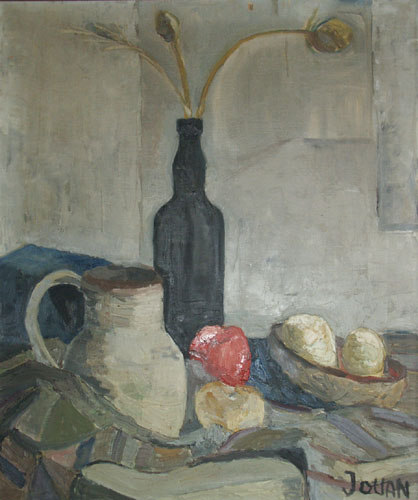 Nature morte au Pichet par Jean-Paul Jouan